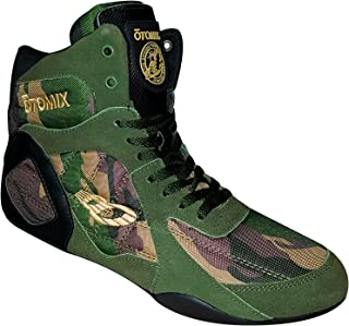 camouflage wrestling shoes