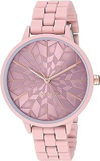 Nine West NW/2334PKPK - Reloj de pulsera para mujer, color rosa