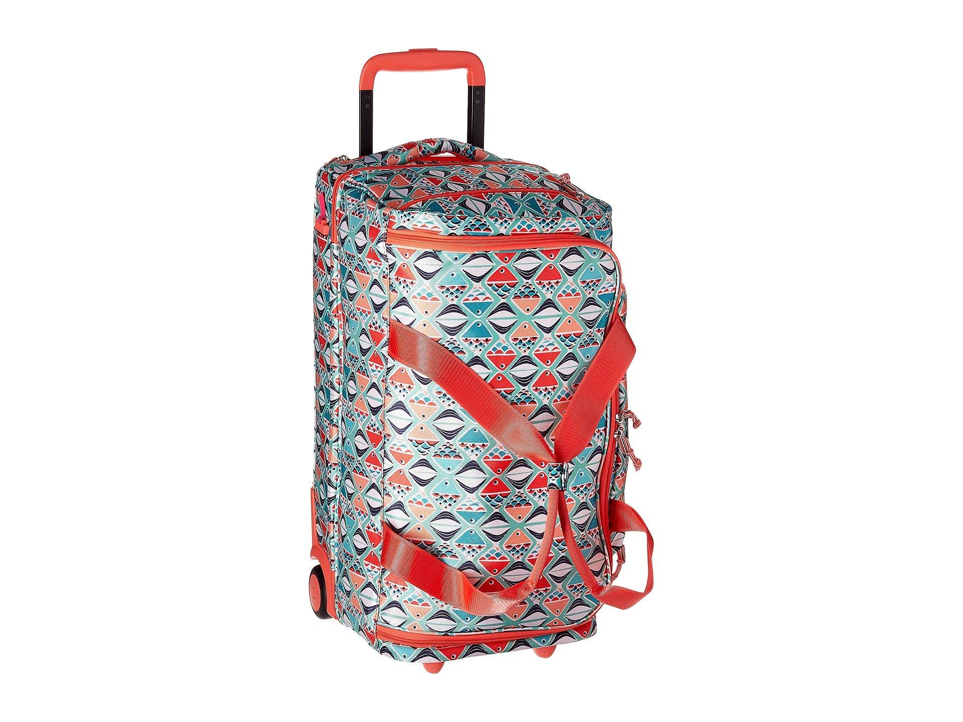Bolso de Lona para Mujer Vera Bradley Lighten Up Foldable Rolling Duffel  + Vera Bradley en VeoyCompro.net