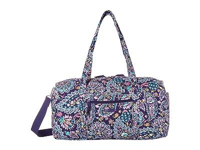 Vera Bradley Medium Travel Duffel (French Paisley) Handbags