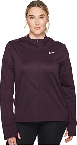 Nike - Therma Full-Zip Running Hoodie (Size 1X-3X)