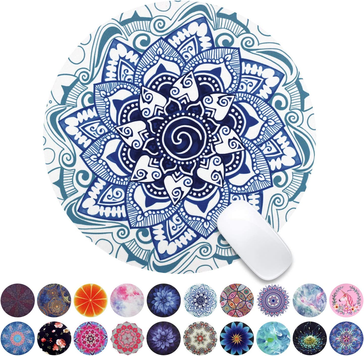 Today's only NEW Beautiful Mandala Mouse Pad with Round Desig