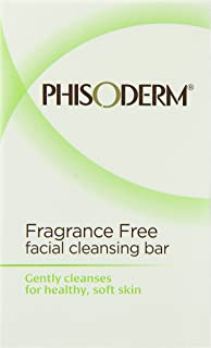 Phisoderm Fragance Free Facial Cleansing Bar, 3.3 ounce Bar, 2 Count, 6.6 Ounce (Pack of 12)