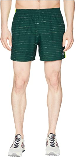 "Printed Accelerate 5"" Shorts"