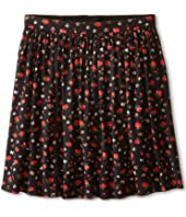 Dolce & Gabbana Kids - Back to School Floral Print Skirt (Big Kids)