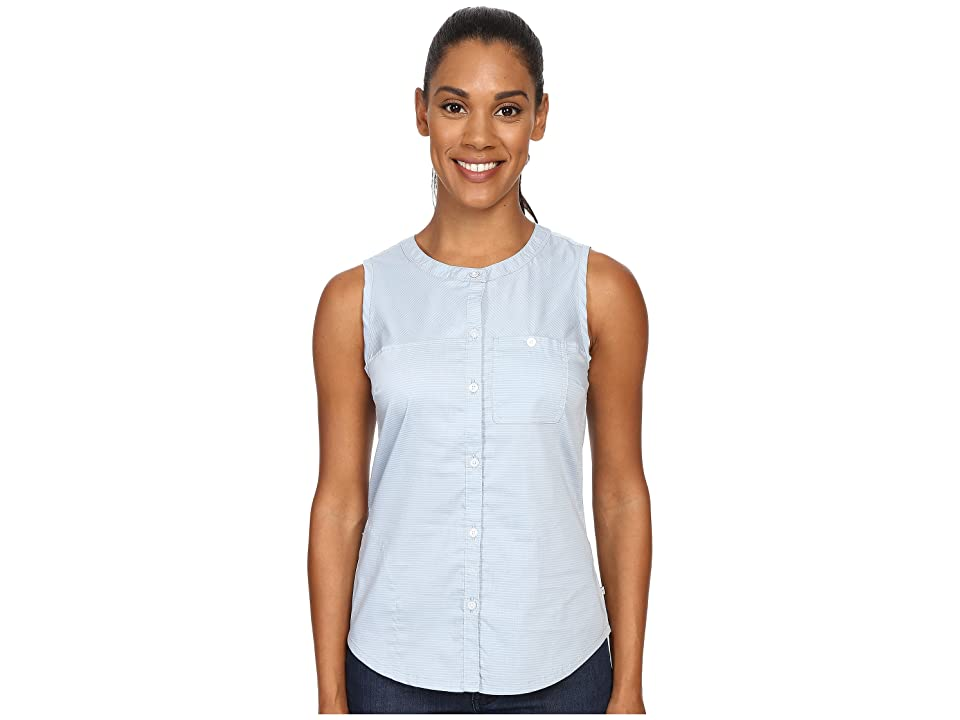 Toad&Co Panoramic Tank Top (Weathered Blue Stripe) Women