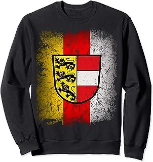 Carinthia T-Shirt with Coat of Arms and Flag Retro Kaernten Sweatshirt
