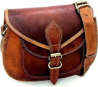 Women Leather Crossbody Shoulder Bags Satchel ladies Purse Genuine Multi Pocket Saddle Vintage Handmade Travel by Firu Handmade