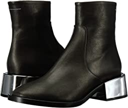 MM6 Maison Margiela - Metallic Heel Chelsea Boot
