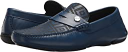 Versace Collection Greca Embossed Driving Loafer