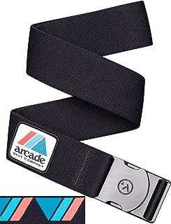 Flexible Elastic Webbing Premium Buckle Arcade Belt Mens Capture Vision Belts