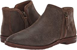 Brown Distressed Italian Kid Suede