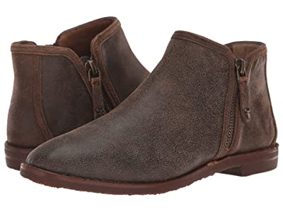 Trask Aubrey (Brown Distressed Italian Suede) Women