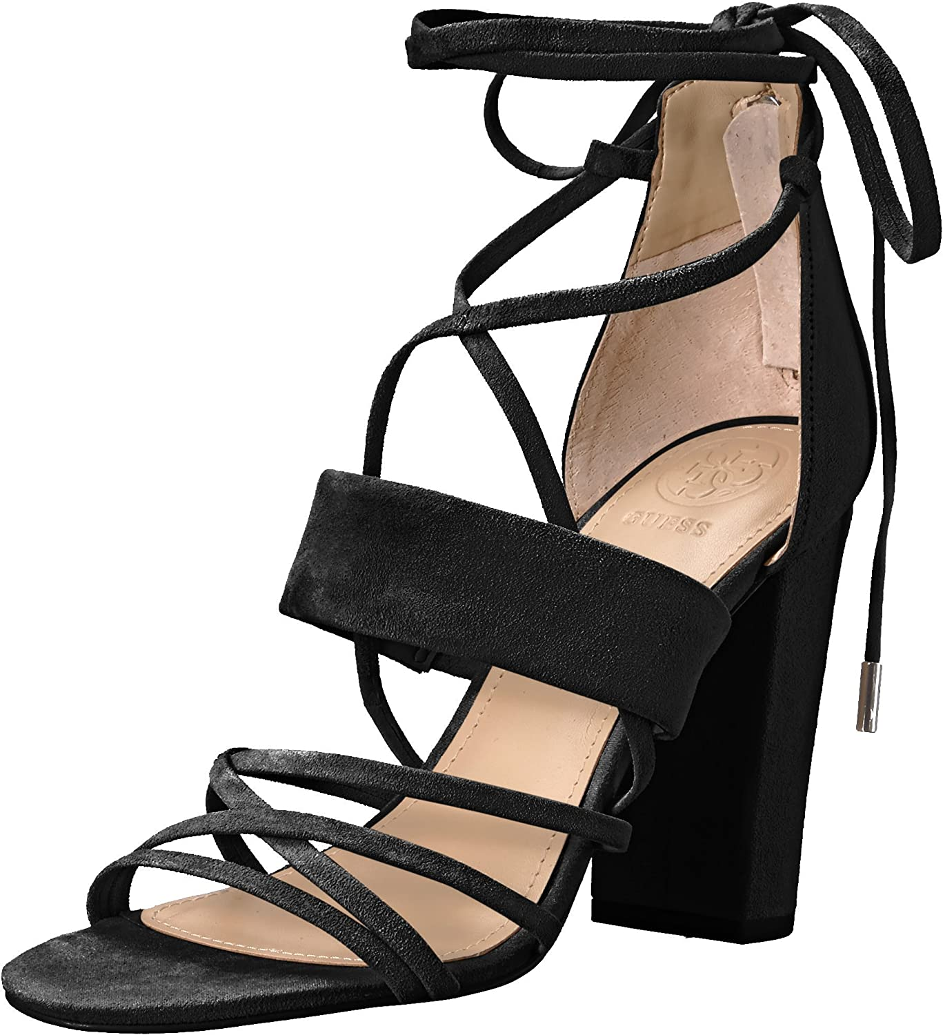 GUESS Womens Conesa Heeled Sandal