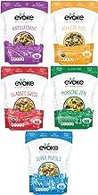 Evoke Muesli, 5 Flavor Variety Pack, Low Sugar, Non GMO, Vegan, includes Organic and Gluten Free Muesli Cereal