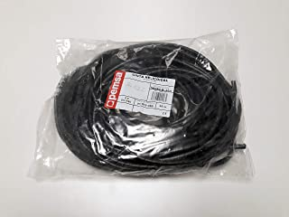 Pemsa 91012030 Organizador de Cables, Negro, 25 mts