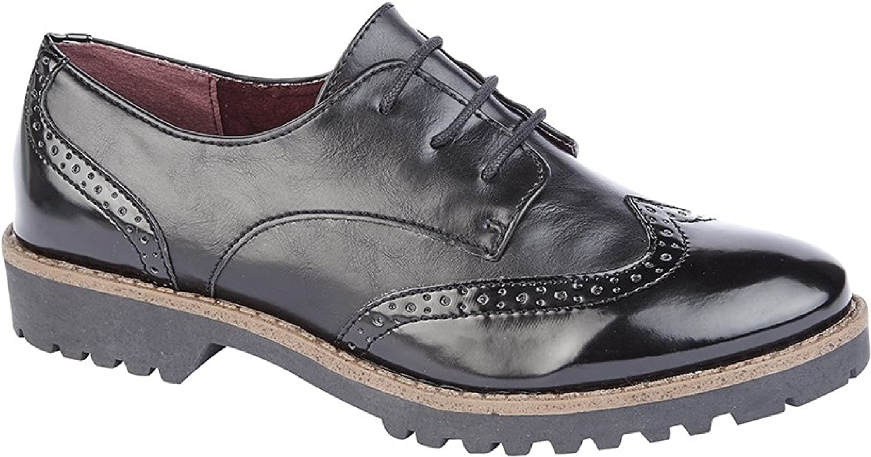 Cipriata Womens Ladies Sofia Brogue shoes