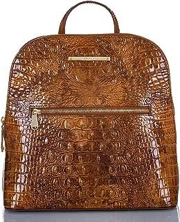 Brahmin Felicity Tamarind Melbourne Croco Backpack