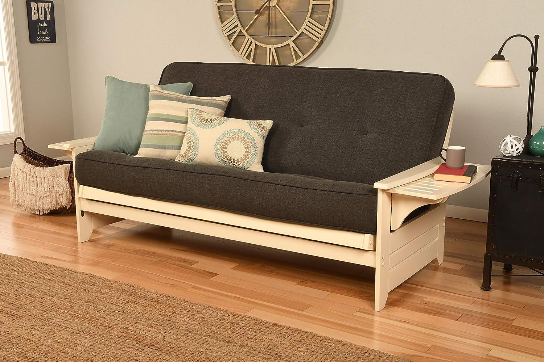 Kodiak Furniture Futon SEAL limited product Set Charcoal lowest price Linen