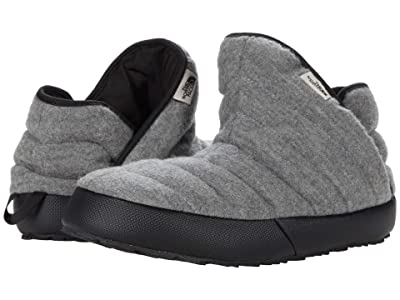 The North Face ThermoBall Traction Bootie (TNF Medium Grey Heather/TNF Black (Wool)) Women
