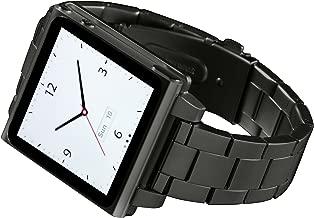 HEX HX1026-GNMT Vision Metal Watch Band for iPod Nano 6G -Gunmetal
