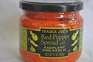 Trader Joe's Red Pepper Spread with Eggplant and Garlic