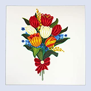 Best paper quilling tulip flower Reviews