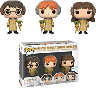 Funko Harry Potter,Ron Weasley & Hermione Granger Pop! (3 Pack) [B&N Exclusive]