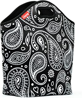 """Neoprene Lunch Bag for Women, Yookeehome 13.5"""" x 13"""" x 5.5"""" Extra Large.."""