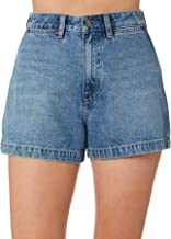 Wrangler Women's Hi Bells Short Cotton Blue