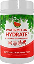 Watermelon Hydrate® – Electrolyte Hydration Powder. Replace Lost Electrolytes from Sweat. 100% Plant-Based Recovery Drink with Trace Minerals. No Sugar Added.