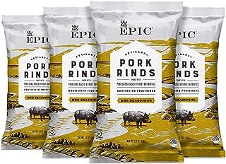 Epic Provisions Texas BBQ Pork Rinds, Keto Consumer Friendly, Paleo, 4 Ct Box, 2.5oz bags