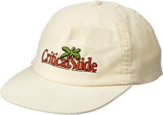 The Critical Slide Society Men's Golden State Cap, Vanilla, ONE Size