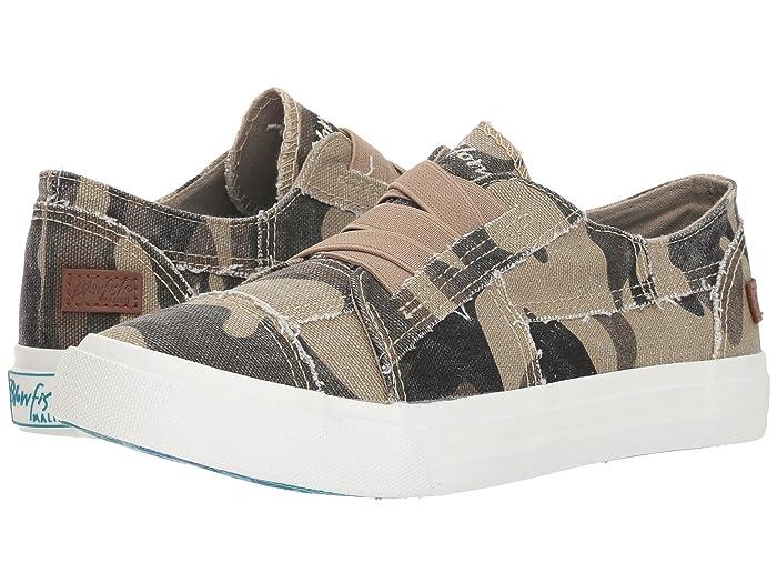 Blowfish  Marley (Natural Camo Canvas) Womens Flat Shoes