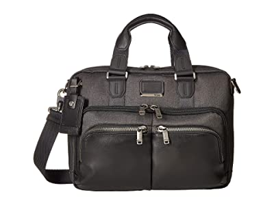 Tumi Alpha Bravo Albany Slim Commuter Brief (Graphite) Briefcase Bags