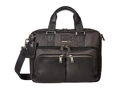 Tumi Alpha Bravo Albany Slim Commuter Brief (Graphite) Briefcase Bags