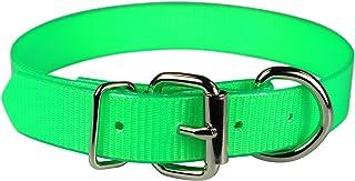 """OmniPet Sunglo Dee In front Pet Collar, 1"""" x 27"""", Neon Green"""