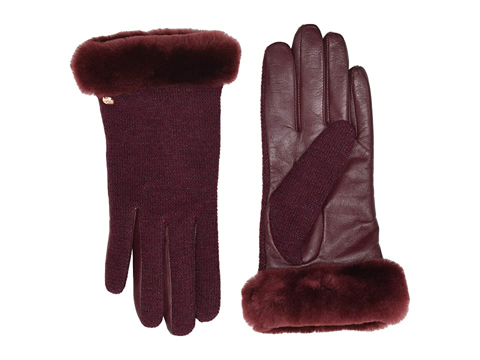 Vintage Style Gloves- Long, Wrist, Evening, Day, Leather, Lace UGG Short Italian Wool Blend Tech Gloves with Long Pile Sheepskin Trim Port Extreme Cold Weather Gloves $74.95 AT vintagedancer.com