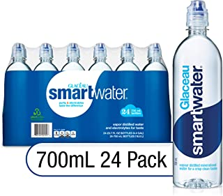 Glaceau Smartwater, 700 ml (Pack of 24)