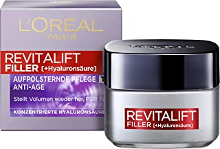 L'Oréal Paris Hyaluron Tagespflege, Revitalift Filler, Anti-Aging Gesichtspflege,..