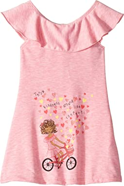 Throw Kindness Tunic Dress (Toddler/Little Kids)