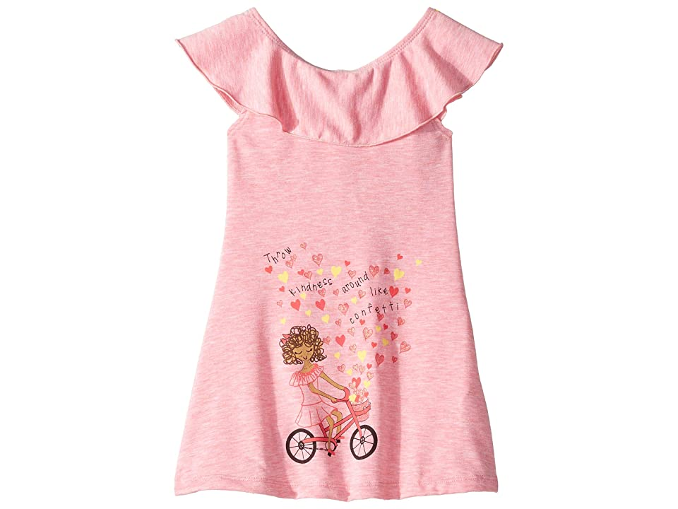 fiveloaves twofish Throw Kindness Tunic Dress (Toddler/Little Kids) (Pink) Girl