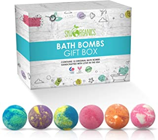 Bath Bombs Gift Box, Assorted Scents, Extra Large, 12 ct