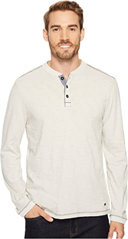 True Grit - Venice Slub Long Sleeve Henley