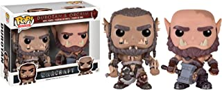 Pop! Movies Warcraft Durotan & Orgrim Exclusive Figure Pack
