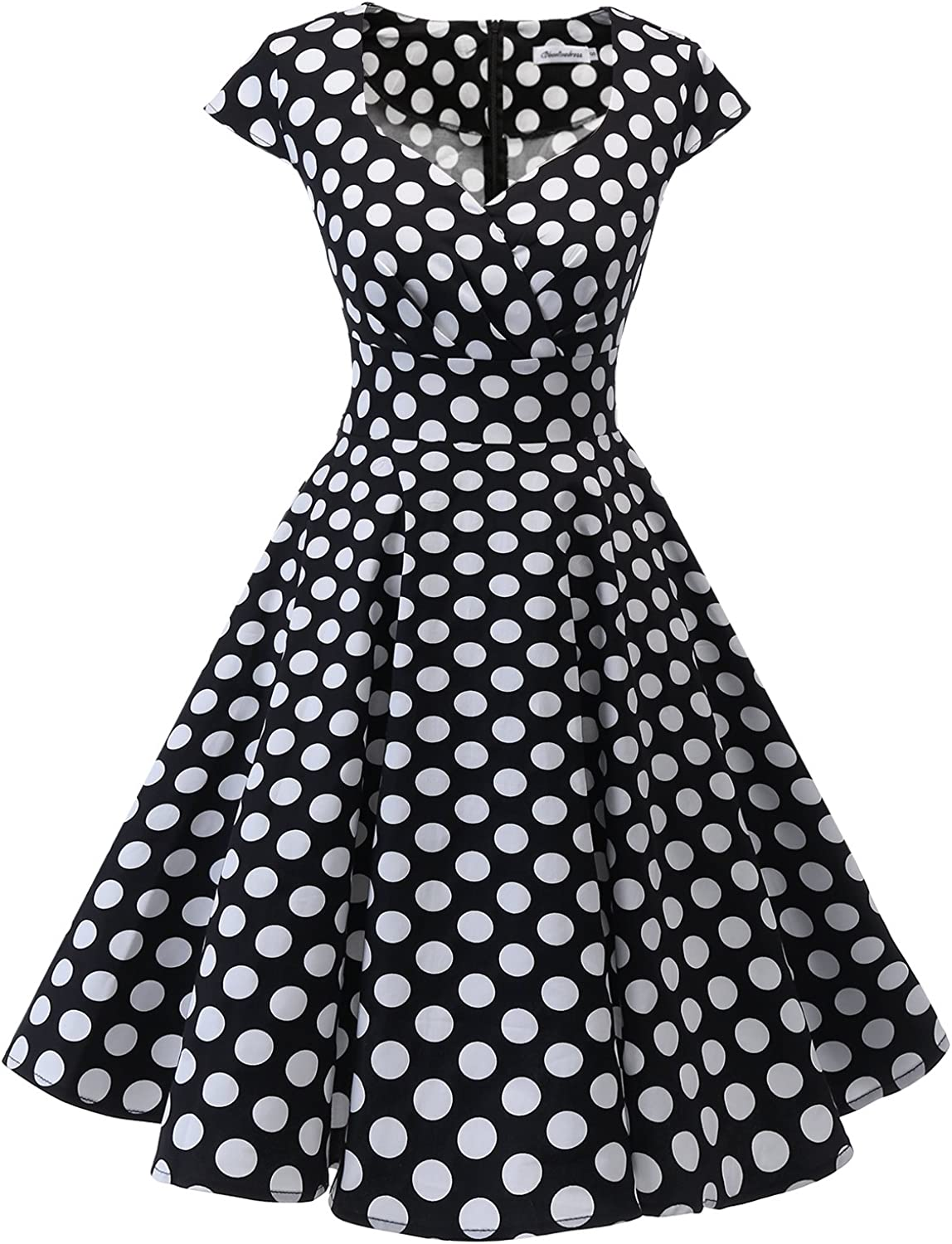 Pin Up Girl Costumes | Pin Up Costumes Bbonlinedress Women Short 1950s Retro Vintage Cocktail Party Swing Dresses  AT vintagedancer.com
