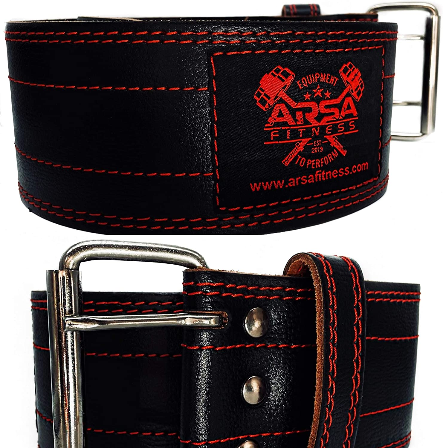 DreamCut Arsa Fitness Weightlifting Belt with RedSkull Buckl New York Mall 2.0 Limited time for free shipping