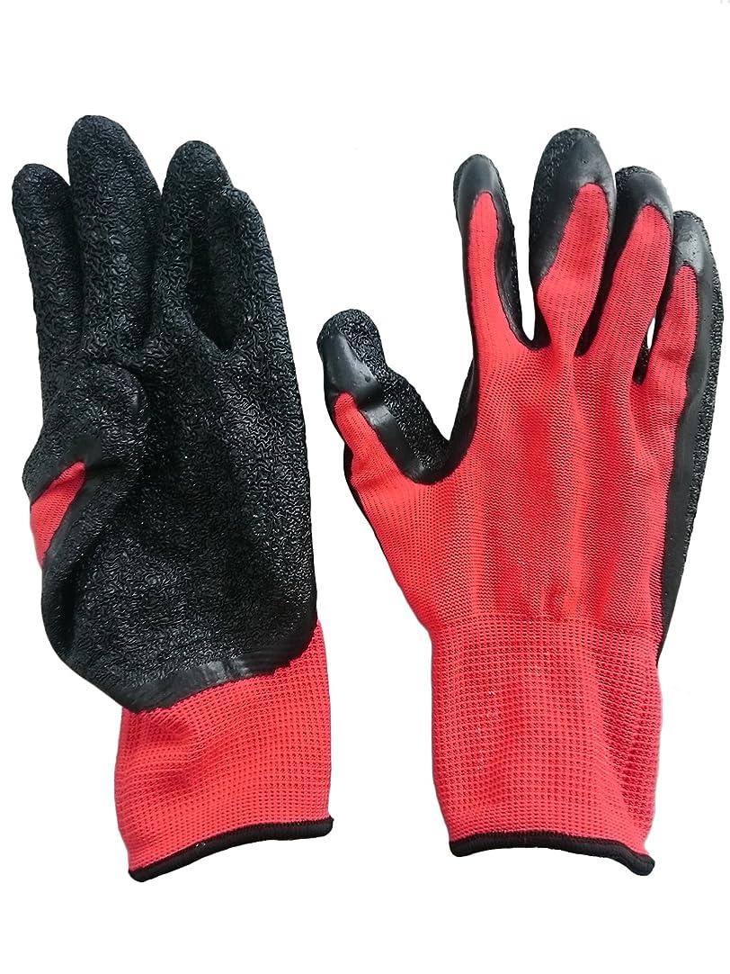割れ目リス封筒丸和ケミカル 天然ゴム背抜き手袋10双組 L 750-10