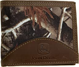 John Deere Mens Passcase Wallet In Gift Box