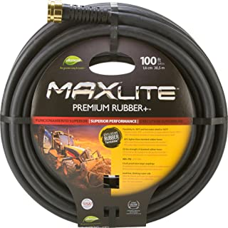 Swan Products CELSGC58100 Element MAXLite Premium Rubber+ Water Hose with Crush Proof Couplings 100' x 5/8